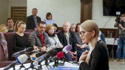 Jūlija Timošenko rosina mainīt Ukrainas konstitūciju