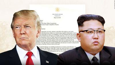 Donalds Tramps tviterī publisko vēstuli no Kima Čenuna