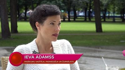 "Ieva Adamss: ""Ir nelaime būt sievietei Latvijā!"""