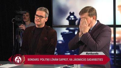 Asa diskusija starp Bondaru un Gobzemu - kurš melo?!