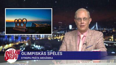 Streipa prāta mehānika: Olimpiskās spēles