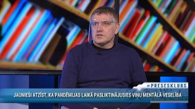 Jānis Āboliņš par jauniešu mentālo veselību pandēmijas laikā