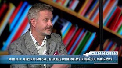 Jānis Endziņš par valdības steigu, izstrādājot nodokļu izmaiņas