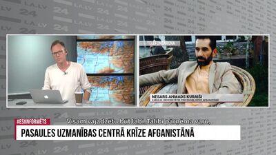Kabulas Universitātes profesors raksturo situāciju Afganistānā