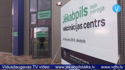 Divās dienās Jēkabpils sporta hallē pret Covid-19 vakcinēti 426 cilvēki