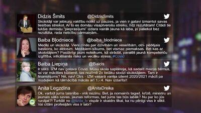 Tvitersāga: Izglītības sistēma Latvijā