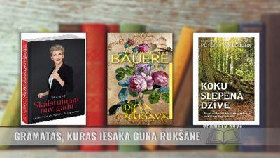 Grāmatas, kuras iesaka izlasīt Guna Rukšāne