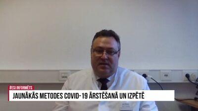 Kā Vācijā tiek ārstēti Covid-19 pacienti?