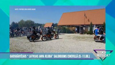 """Gadskārtējais """"Latvijas Jawa kluba"""" salidojums Cinevillā"""