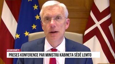 Speciālizlaidums: Preses konference par lemto Ministru kabineta sēdē