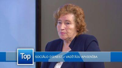Anna Jegorova par sociālo dienestu vadītāju apvienības nozīmi
