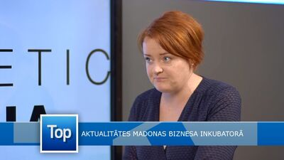 Aktualitātes Madonas biznesa inkubatorā