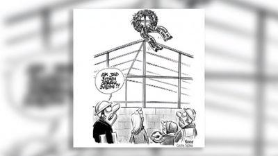 Karikatūru apskats: Pārlieku daudz naudu ieguldām betonā?