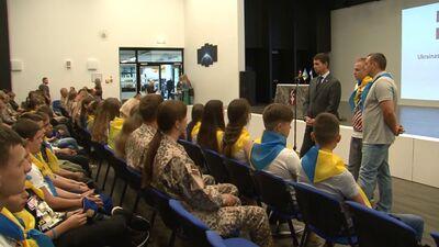 Daugavpils 100 sekundēs: nometne Ukrainas karavīru bērniem, purva takas izveidošana