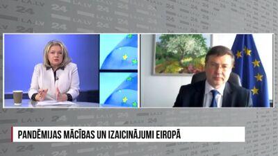 Valdis Dombrovskis par zaļo sertifikātu un tā kritērijiem