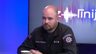 Mārtiņš Baltmanis atbild uz jautājumiem par ugunsdzēsēju atalgojumu un kompensācijām