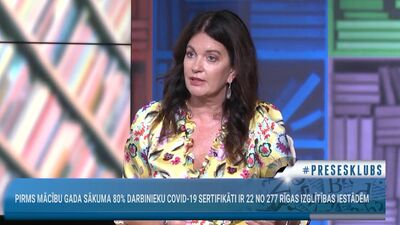 Ramona Petraviča skaidro, kāpēc vakcinējās pret Covid-19