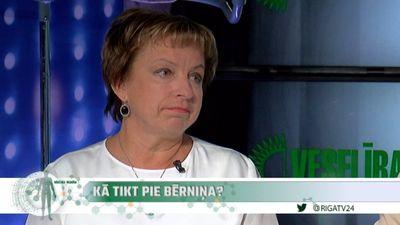 Dr. Ilona Kampara par iemesliem sieviešu neauglībai