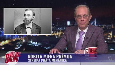 Streipa prāta mehānika: Nobela miera prēmija