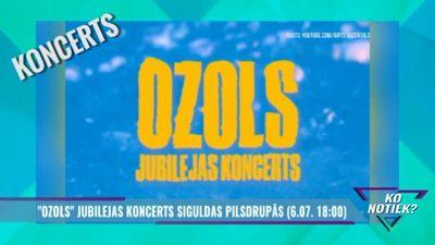 """""""Ozols"""" jubilejas koncerts Siguldas pilsdrupās"""