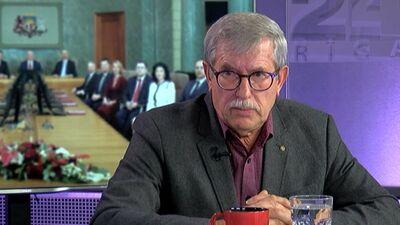 Emsis: Man ir kauns, ka Latvijai nepakļauta institūcija lemj par sankcijām Lembergam