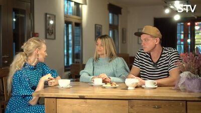 Linda un Edžus Ķauķuli par to kā saglabāt harmoniskas ģimenes attiecības?