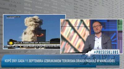 Kopš 2001.gada 11.septembra uzbrukumiem terorisma draudi pasaulē ir mainījušies