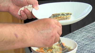 Juris Zviedris māca kā gatavot marinētas renģes