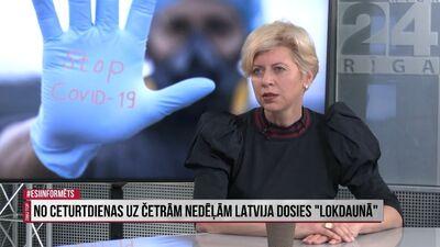 Anda Čakša: Vasarā bija visus jānovakcinē