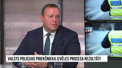 Kozlovskis: Ministra pienākums un atbildība ir izvēlēties Valsts policijas vadību