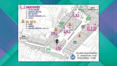 """""""Ezīšfests 2019"""" Tallinas ielas kvartālā"""