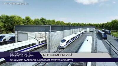 """""""Rail Baltica"""" projekts krasi izmainīs Rīgas vaibstus"""