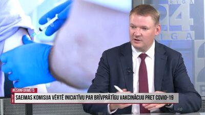 Edvards Smiltēns: Latvijas valdība pati ir radījusi šo problēmu
