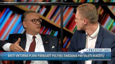 """Advokāts Zelmenis nosauc NA par """"naciķiem"""", aizkaitinot deputātu Dombravu"""