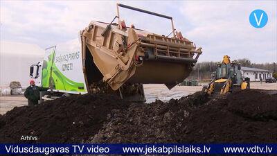 Jēkabpilī turpina ieviest biomasas atkritumu šķirošanas sistēmu