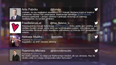 Tvitersāga: Pasaules čempionāts hokejā