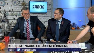 """Latkovskis: """"Atdosim KPV LV Satiksmes ministriju, bet atņemsim visus uzņēmumus"""""""