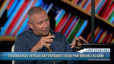 Māris Rēvalds par netaisnībām ar mediķu algām