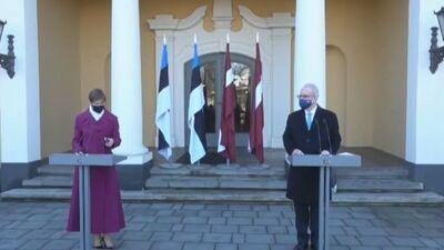 Speciālizlaidums: Egila Levita un Igaunijas prezidentes Kersti Kaljulaidas paziņojums presei