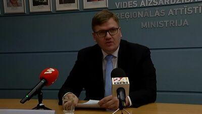Speciālizlaidums: VARAM ministrs informē par gada laikā paveikto
