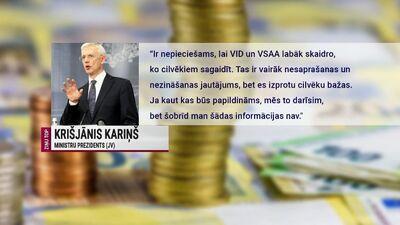 Viņķele par nodokļu reformu: Fokuss ir dziļi balstīts premjera paša dzīvesveidā un statusā