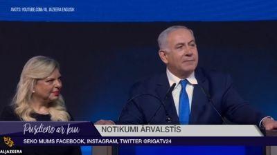 Izraēlas parlamenta vēlēšanās uzvaru prognozē Netanjahu