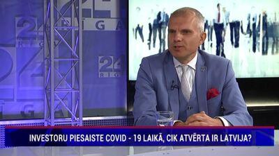 Rostovskis par investoru piesaisti Covid-19 laikā