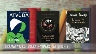 Grāmatas, ko iesaka Kaspars Zaviļeiskis