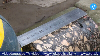 07.01.2020 Pārbauda asfalta segumu