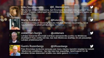 Tvitersāga: Atskaņas no Eirovīzijas