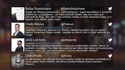 Tvitersāga: Valdības veidošanas process