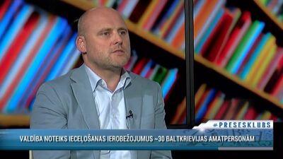 Kulbergs: Šobrīd visa pasaule nopirkusi popkornu un skatās, kas notiek Baltkrievijā