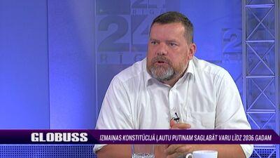 """Kudors: Referendums par """"Putina konstitūciju"""" ir viltus"""