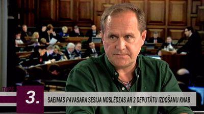 Guntars Račs: Latvijas reputācija ir iedragāta diezgan nopietnā līmenī